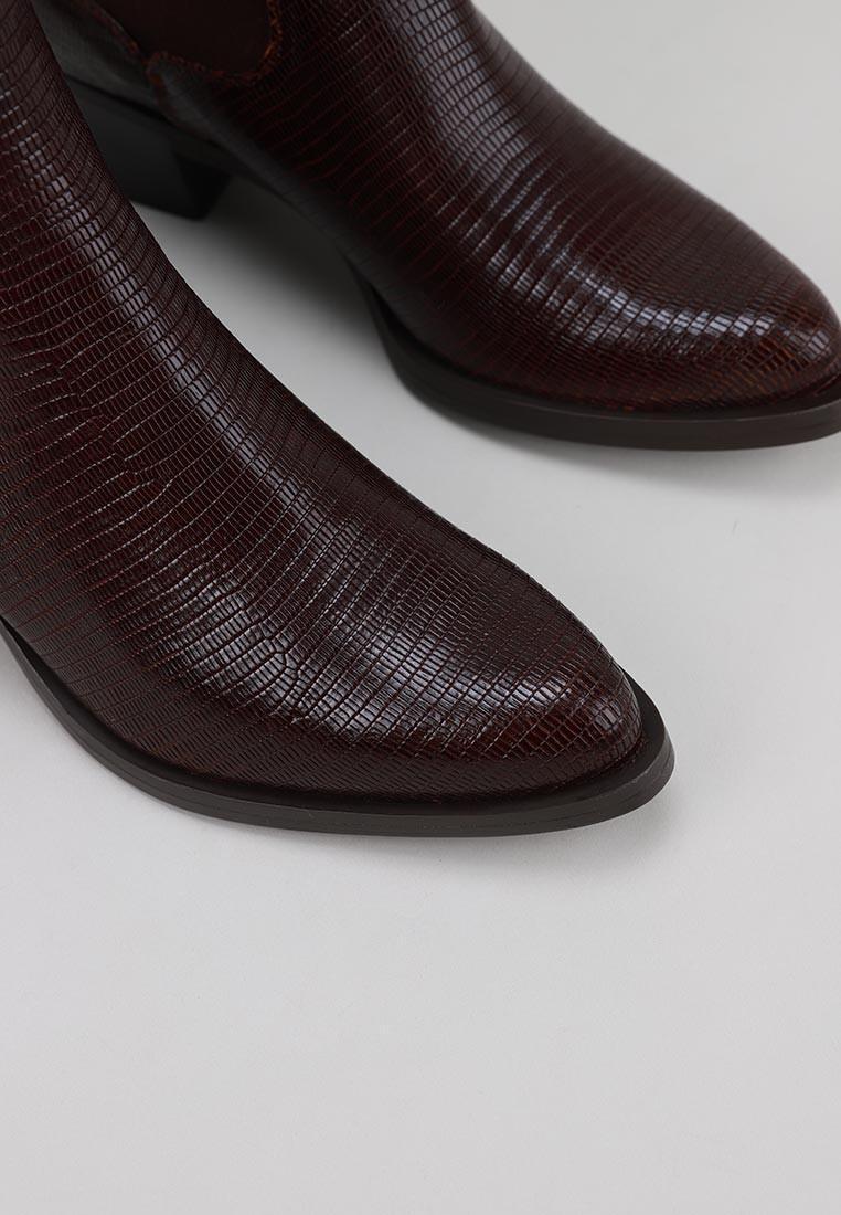 botines-tacon-unisa-marrón
