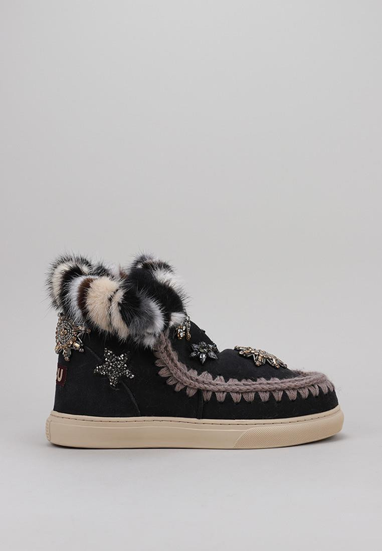SNEAKER STAR PATCHES&MINK FUR