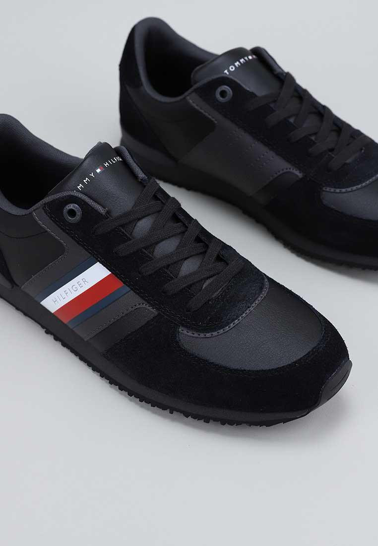 tommy-hilfiger-iconic-mix-runner-negro