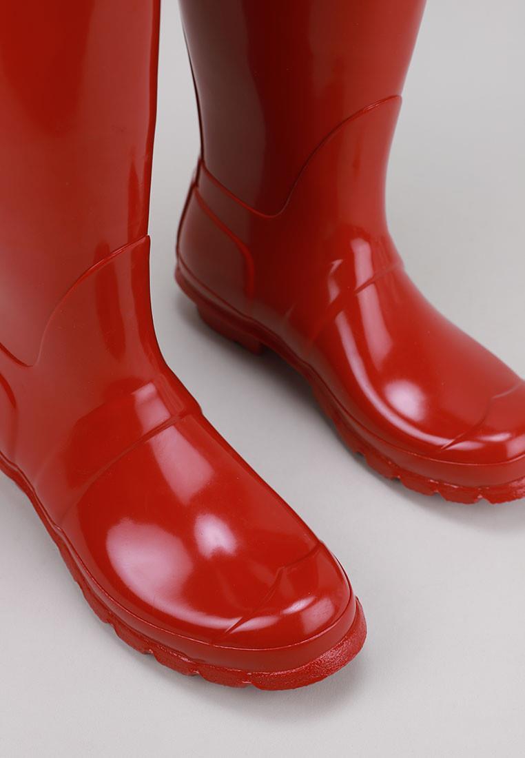 hunter-womens-original-tall-gloss-rojo