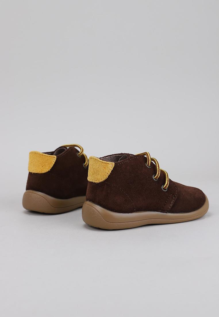 botas-nino-krack-kids-marrón