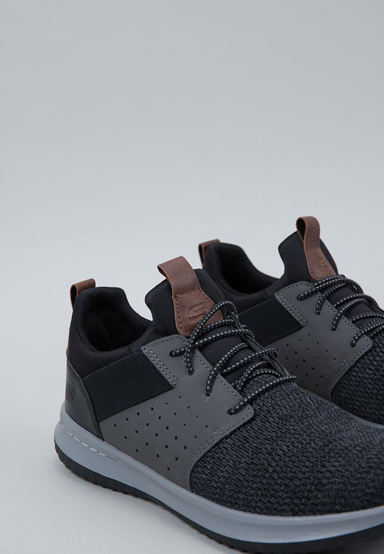 zapatos-hombre-skechers-gris