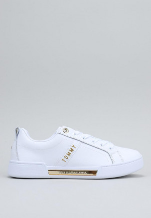 BRANDED OUTSOLE STRAPPY SNEAKER