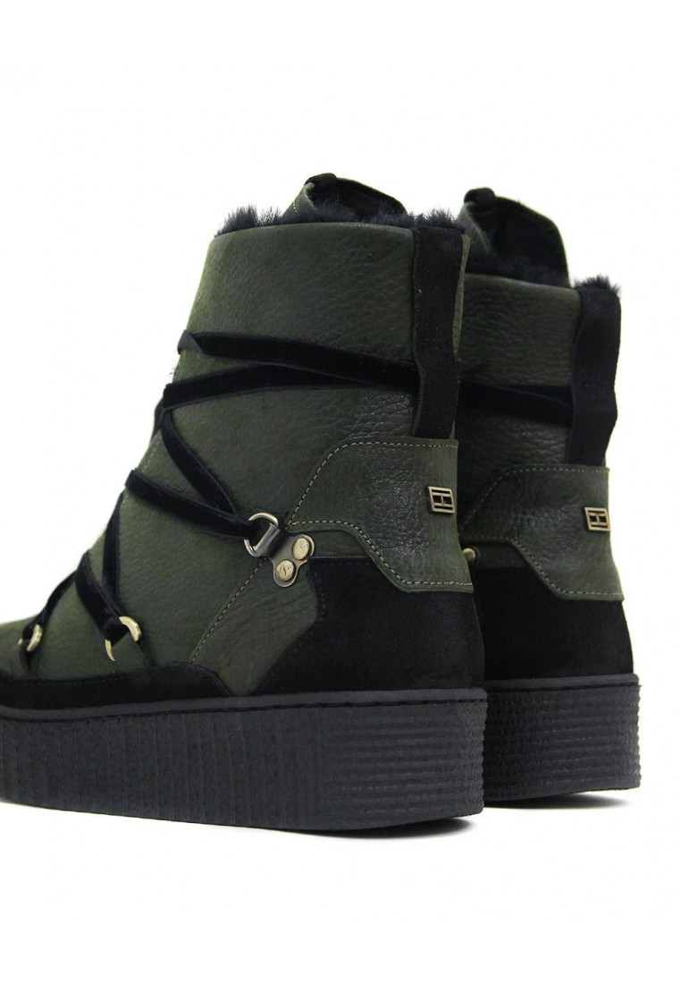 COZY WARMLINED LEATHER BOOT